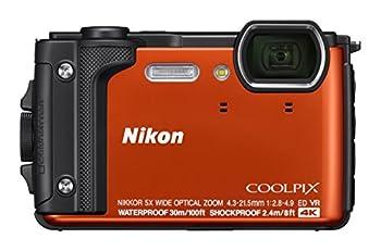 Nikon W300 Waterproof Underwater Digital Camera with TFT LCD 3  Orange  26524