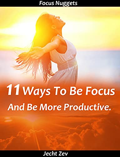 Focus Nuggets: 11 Ways To Be Focus And Be More Productive. (English Edition)