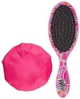 Wet Brush Style Saver Kit- Original Detangler, Deluxe Shower Caps, Flexible Bristles, No Split-Ends & Hair Breakage, All H...