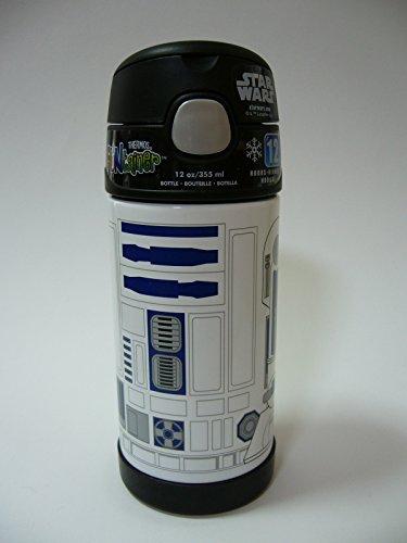 『THERMOS サーモス Star Wars スターウォーズ R2D2 R2-D2 ストローボトル 真空断熱 水筒 355ml』の2枚目の画像