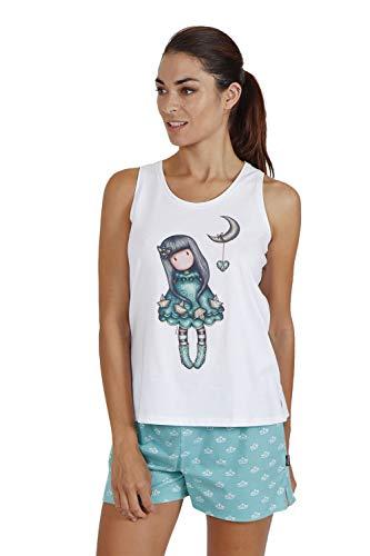 SANTORO Pijama Tirantes Into The Ocean para Mujer