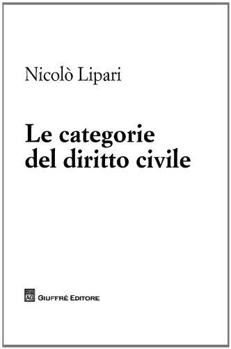 Le categorie del diritto civile