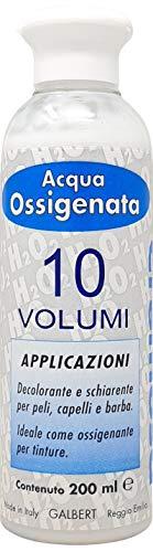 Acqua Ossigenata Cremosa Professionale 10 Volumi per Tinta Nuova Galbert Made in Italy