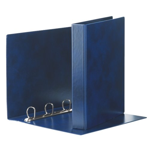 ESSELTE E50 PRESTIGE raccoglitore ad anelli 4-25-Tondo - f.to 22 x 30 cm - Blu - 390550050
