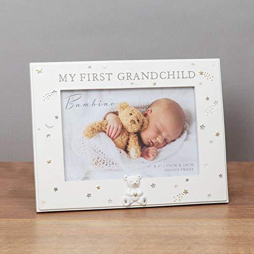 Widdop Bambino Resin My First Grandchild Photo Frame