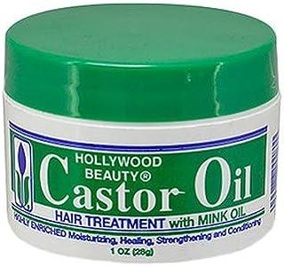 Hollywood Beauty Castor Oil Hair Treatment with Mink Oil 30ml - Travel/Trial Size