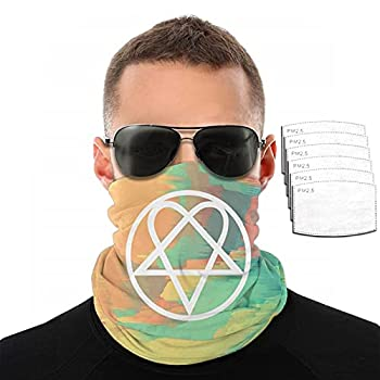 Heartagram Tattoos Unisex Mouth Mask Dust Mask with Filte Wind Mask
