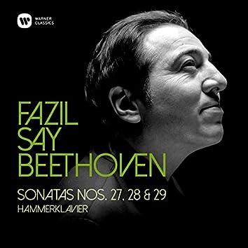 """Beethoven: Piano Sonatas Nos 27, 28 & 29, """"Hammerklavier"""""""