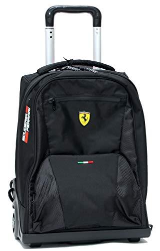 Zaino Trolley Premium Nero Ferrari Kids