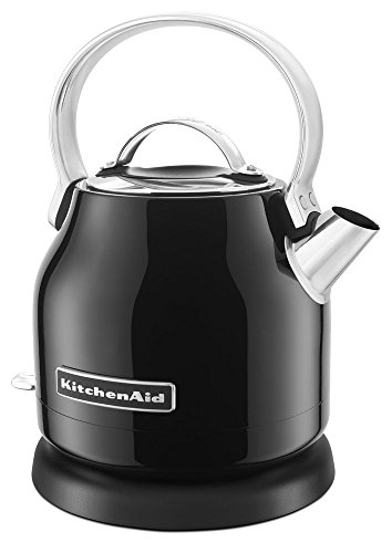 KitchenAid KEK1222OB 1.25-Liter Electric Kettle - Onyx Black (Renewed)