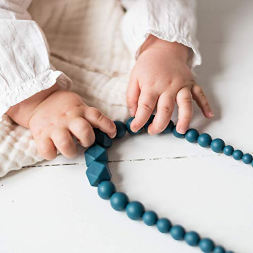Peacock MintyWendy - Cadeau babyshower - Naissance - collier de portage, d'allaitement, fête des mères