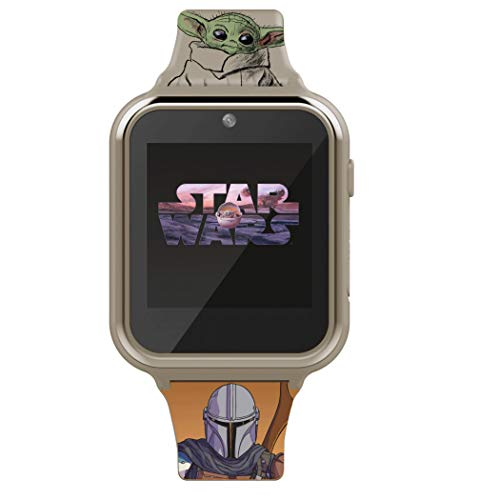 Accutime Star Wars The Mandalorian and The Child Interactive Kids Watch