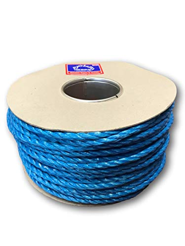 100M Trade REELS EVERLASTO Blue Polypropylene Poly Rope 6MM 8MM 10MM 12MM 14MM (6MM)