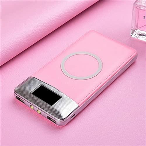 XIECUI Banco de energíaBanco de energía magnético de 10000 mah para Banco de energía inalámbrico para batería de energía móvil Xiaomi Samsumg China Azul