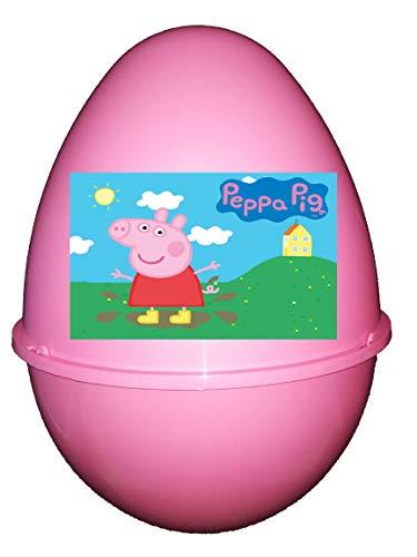 Piscitelli Antonietta Peppa Pig Pasqualone Sorpresone Uovo di Pasqua Contenitore con Gadget