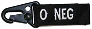 Condor Outdoor O Positive Blood Type Key Chain (Black)