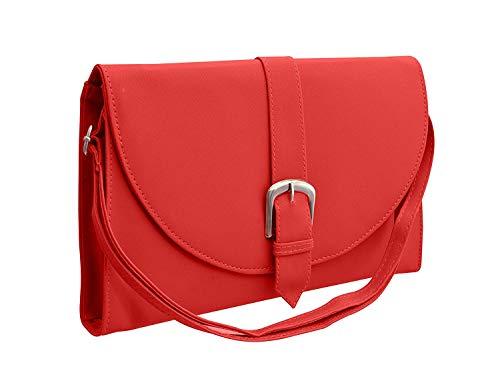 BFC-Buy For Change Latest Stylish Multi Pocket Cross Body Red Sling Side...