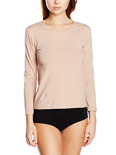 EVEN 686/Pack 3, Camiseta Interior para Mujer, Beige (Piel), X-Large