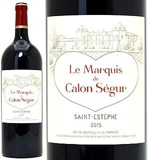 2015 ル マルキ ド カロン セギュール マグナム 1500mlサンテステフ 赤ワイン コク辛口 ワイン ((AACS21L5))