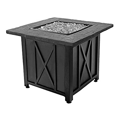 Endless Summer Blue Rhino Outdoor Propane Gas Patio Fireplace Fire Pit