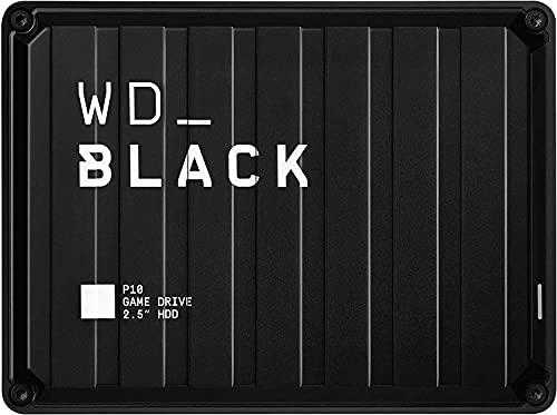 WD_BLACK 2TB P10 Game Drive - Portable External Hard Drive HDD,...