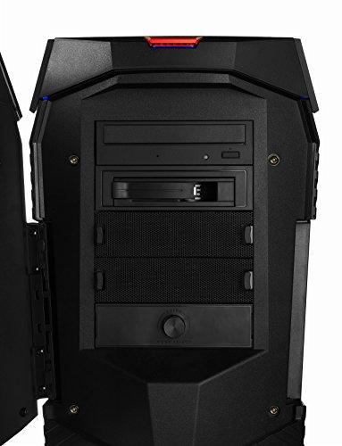 MEDION ERAZER X67045 - Ordenador de sobremesa (Intel Core i7-8700K, 16 GB RAM, 256 GB SSD, 2 TB HDD, Nvidia GeForce GTX 1080, Windows 10 Home) color negro