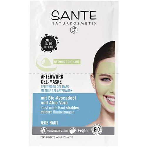 Sante Afterwork Gel-Maske (2x4 ml)
