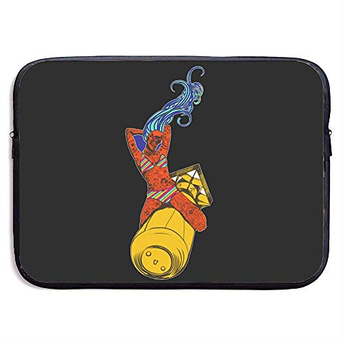 Laptop Sleeve tas Beschermende Case Alternate Nu Bomber Zwart Cover voor Alle Computer Notebook 13 Inch
