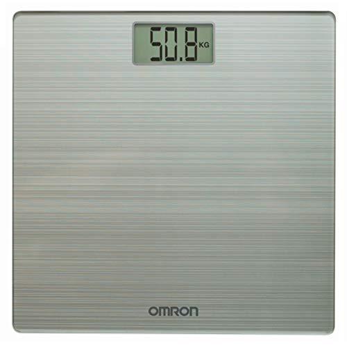 Omron HN-286 báscula baño Báscula Personal electrónica Blanco - Báscula de baño (Báscula Personal electrónica, 180 kg, 100 g, g, kg, Blanco, Vidrio, De plástico)