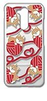 【moimoikka】 LG style2 L-01L クリア ハードケース 柴犬と毛糸玉 ドット 水玉 北欧 デザイン 犬 動物 アニマル キャラクター おしゃれ オシャレ かわいい 可愛い 柄 カバー ジャケット スマートフォン スマホケース sslink