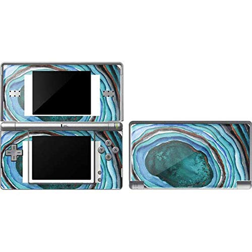 Skinit Decal Gaming Skin Compatible with DS Lite - Officially Licensed Originally Designed Turquoise Watercolor Geode Design