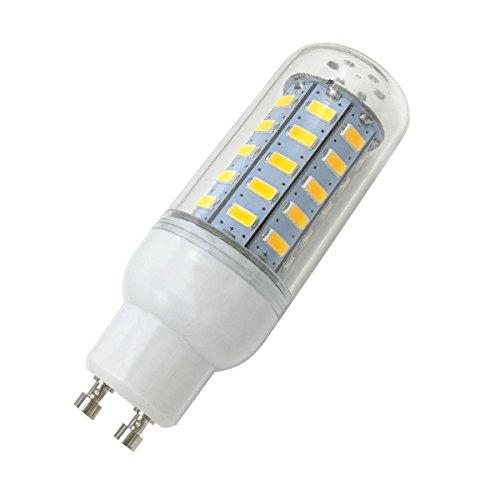 Aoxdi 1x LED Strahler Lampe GU10 Sockel 7 Watt, Warmweiß, 48 SMD 5730 LED GU10 Energiesparlampe 7W, AC220-240V