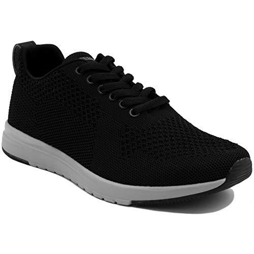 Nautica Paylon - Zapatillas de deporte para hombre, Negro (Negro), 42.5 EU