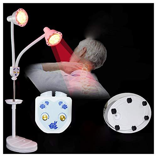 NoNo Infrarood lichttherapie timing temperatuurinstelling verwarming staande lamp dubbele kop infrarood lamp ter verlichting van spierpijn bevordert de doorbloeding