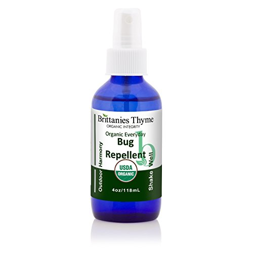 Organic BugRepellant (4oz) Glass Bottle