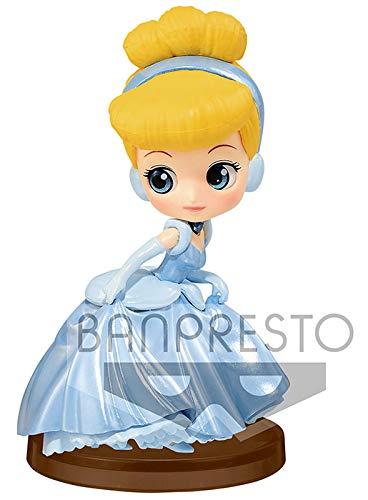 Disney- Figura QPOSKET Cenicienta 7 CM Bella, Multicolor (1)