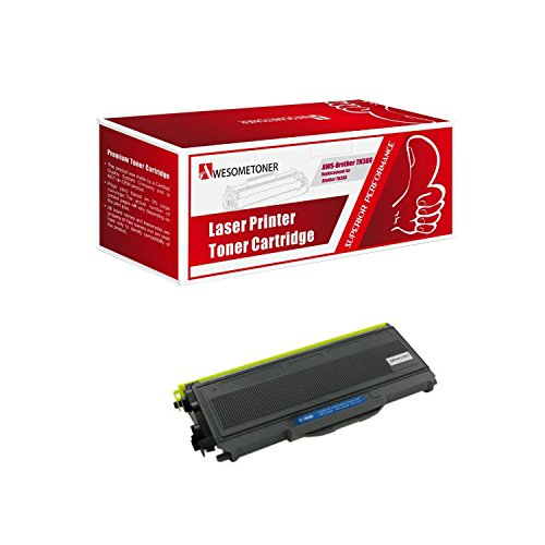 Awesometoner TN360 Premium Compatible with Brother High Value High Yield Black Toner Cartridge