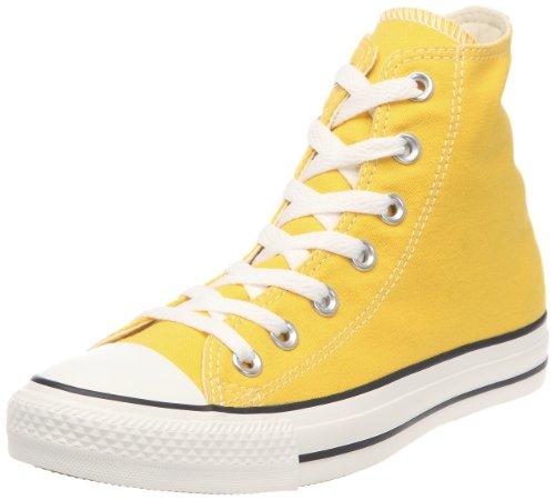 Converse Unisex Chuck Taylor AS Plaid Hi Sportschuhe mit Schnürung, Gelb - gelb - Größe: 46 EU