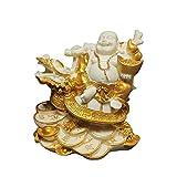 KKUUNXU Xuanwu Maitreya Decorazione Auto Soggiorno Casa Decorazione Feng Shui Maitreya Laughing Buddha Lucky Fortune Artigianato