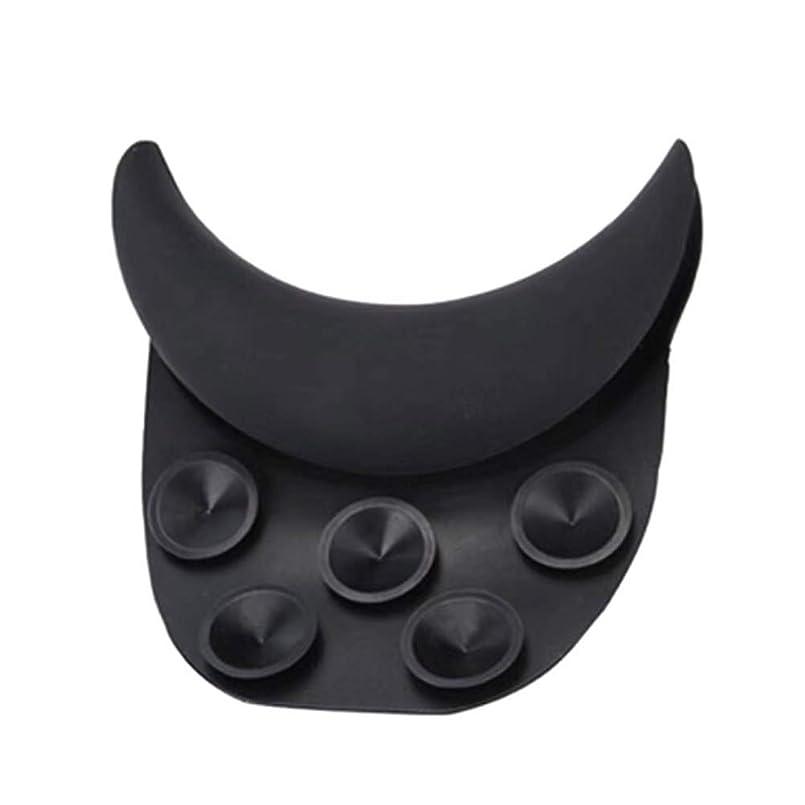 ラダとにかく爵Healifty 理髪用枕シリコーンサロンクッション(ブラック)