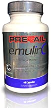 Valentus Prevail Emulin C Optimized Sugar Management Dietary Supplement - Blood Sugar Support - Healthy Body Weight [60 Capsules]