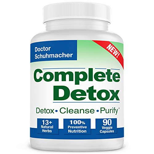 Longevity Complete Detox New Formula  Rapid Whole Body Detox  10  Natural Herbs  Scientifically formulated amp Most Recommended for Detox  90 Capsules