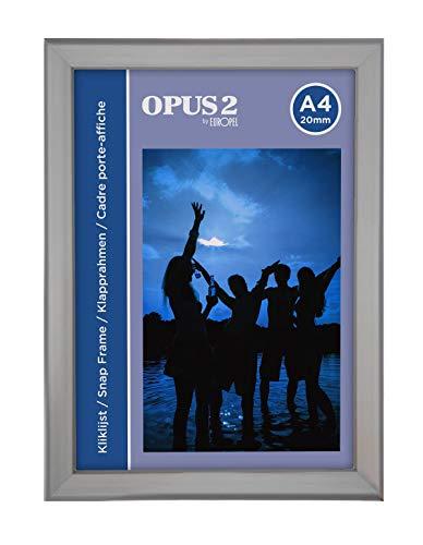 OPUS 2 355000 Klapprahmen A4, 20 mm Profil