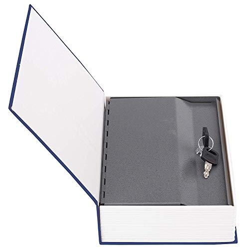 Birud Metal Hidden Secret Book Safe Security Dictionary Book, Safe Jewelry Box/Cash Locker for Home, Hotel, Travel, Temple etc SIZE : 24 x 15.5 x 5.5 cm