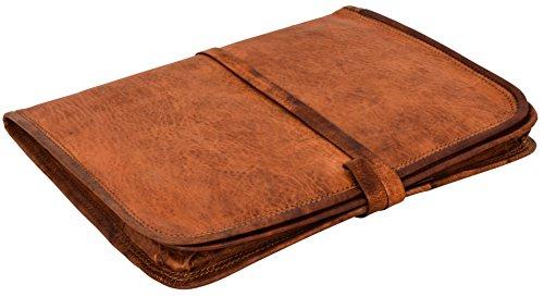Gusti Laptoptasche-10 Leder - Chuck Tablettasche Leder Hülle Dokumenten Hülle Vintage Braun