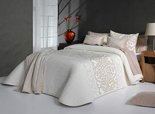 Reig Martí Tagesdecke Bett 150 cm Ecru Pompey...