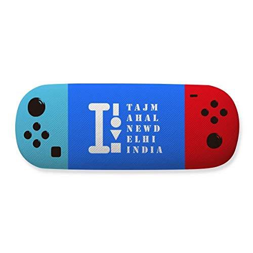 Taj Mahal New Delhi - Funda para gafas de almacenamiento indio, diseño creativo