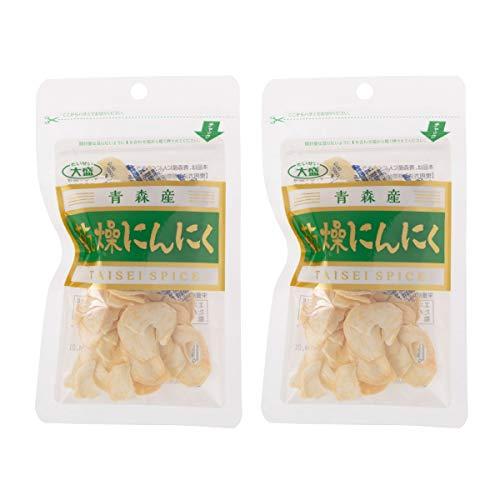 [大盛食品] 青森産 乾燥にんにく スライス 15g×2袋