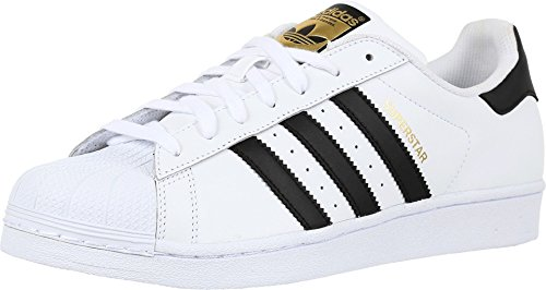 adidas Originals Superstar, Men Trainers, White (Ftwr White/Core Black/Ftwr White), 6.5 UK (40 EU)
