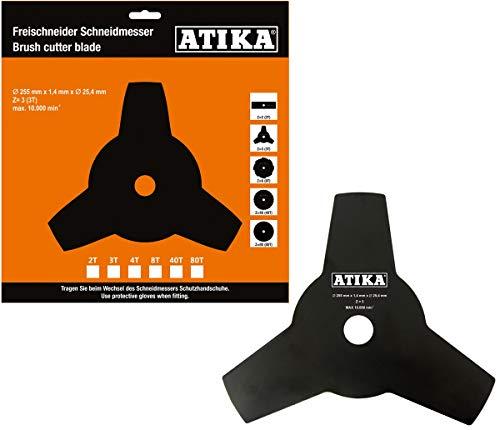 ATIKA Ersatzteil | 3-Zahn Schneidmesser für Freischneider BF 31-4T